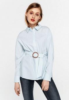Блуза, Befree, цвет: голубой. Артикул: BE031EWHXJO9.