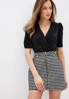 Блуза, Befree, цвет: черный. Артикул: BE031EWHXJP0.