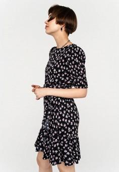 Платье, Befree, цвет: черный. Артикул: BE031EWHXJP3.