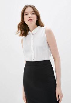 Блуза, Befree, цвет: белый. Артикул: BE031EWHXJT4.