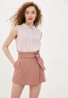 Блуза, Befree, цвет: розовый. Артикул: BE031EWHXJT6.