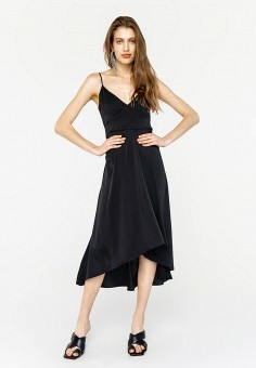 Платье, Befree, цвет: черный. Артикул: BE031EWJBCV7.