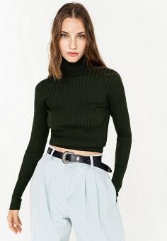 Водолазка, Befree, цвет: зеленый. Артикул: BE031EWKGXJ3. Одежда / Джемперы, свитеры и кардиганы / Водолазки