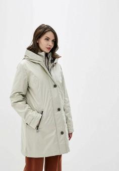 Куртка утепленная, Betty Barclay, цвет: бежевый. Артикул: BE053EWFLTE8. Одежда / Верхняя одежда