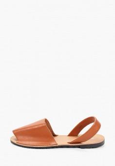 Сандалии, Bellamica, цвет: коричневый. Артикул: BE058AWJFEC7. Обувь / Сандалии