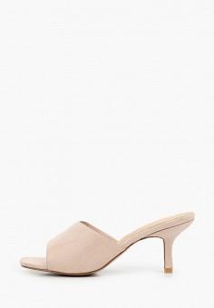 Сабо, BelleWomen, цвет: бежевый. Артикул: BE060AWIZBS8. Обувь / Сабо и мюли