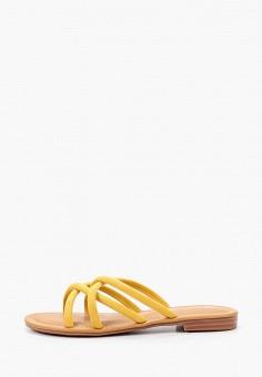 Сабо, BelleWomen, цвет: желтый. Артикул: BE060AWIZBU2. Обувь / Сабо и мюли
