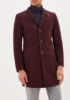 Пальто, Berkytt, цвет: бордовый. Артикул: BE068EMGLSK3. Одежда / Верхняя одежда / Пальто