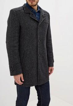 Пальто, Berkytt, цвет: серый. Артикул: BE068EMGMKC1. Одежда / Верхняя одежда / Пальто
