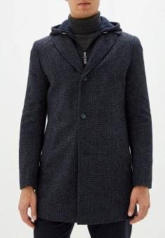 Пальто, Berkytt, цвет: синий. Артикул: BE068EMGMKC2. Одежда / Верхняя одежда / Пальто