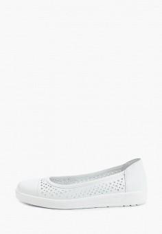 Балетки, Belwest, цвет: белый. Артикул: BE096AWILFS4. Обувь / Балетки