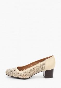 Туфли, Belwest, цвет: бежевый. Артикул: BE096AWILFT2. Обувь / Туфли