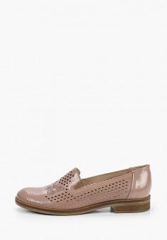 Лоферы, Belwest, цвет: розовый. Артикул: BE096AWITBC4. Обувь / Туфли