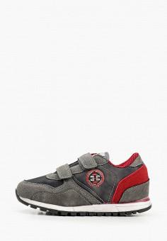 Кроссовки, Beppi, цвет: серый. Артикул: BE099ABHNMU7. Мальчикам / Обувь