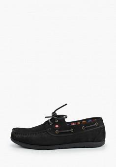 Топсайдеры, Beppi, цвет: черный. Артикул: BE099AMHNRU8. Обувь