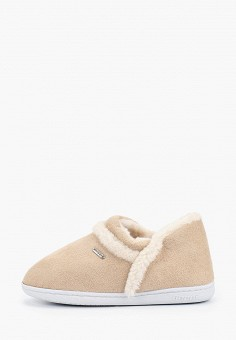 Тапочки, Beppi, цвет: бежевый. Артикул: BE099AWGYMJ8. Обувь / Домашняя обувь
