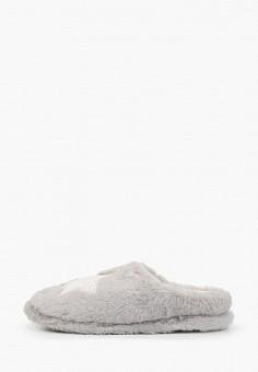 Тапочки, Beppi, цвет: серый. Артикул: BE099AWGYMJ9. Обувь / Домашняя обувь