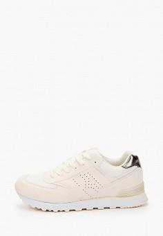 Кроссовки, Beppi, цвет: бежевый. Артикул: BE099AWIMNC9. Обувь / Кроссовки и кеды
