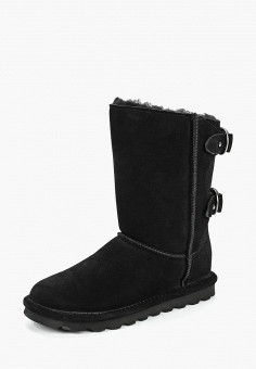 Полусапоги, Bearpaw, цвет: черный. Артикул: BE223AWCXKM1. Обувь / Сапоги