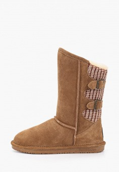 Полусапоги, Bearpaw, цвет: коричневый. Артикул: BE223AWFWTE5. Обувь / Сапоги / Полусапоги