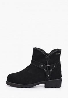 Ботинки, Bearpaw, цвет: черный. Артикул: BE223AWFWTE7. Обувь / Ботинки / Высокие ботинки