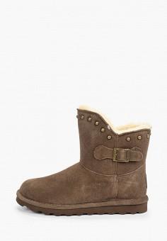 Полусапоги, Bearpaw, цвет: коричневый. Артикул: BE223AWFWTF3. Обувь / Сапоги