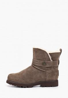 Ботинки, Bearpaw, цвет: коричневый. Артикул: BE223AWFWTG0. Обувь / Ботинки
