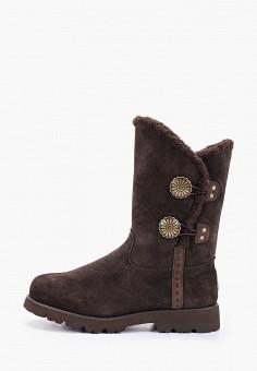Полусапоги, Bearpaw, цвет: коричневый. Артикул: BE223AWFWTG3. Обувь / Сапоги / Полусапоги