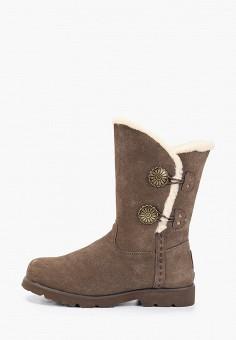 Полусапоги, Bearpaw, цвет: коричневый. Артикул: BE223AWFWTG4. Обувь / Сапоги / Полусапоги