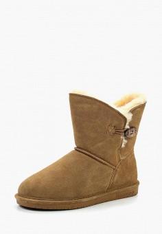 Полусапоги, Bearpaw, цвет: коричневый. Артикул: BE223AWYBR70. Обувь / Сапоги / Полусапоги