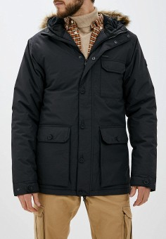 Куртка утепленная, Billabong, цвет: черный. Артикул: BI009EMHNGE1. Одежда / Верхняя одежда / Пуховики и зимние куртки / Зимние куртки