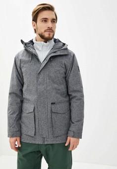 Куртка утепленная, Billabong, цвет: серый. Артикул: BI009EMINKS7. Одежда / Верхняя одежда / Пуховики и зимние куртки