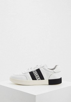 Кеды, Bikkembergs, цвет: белый. Артикул: BI535AMIKUM6. Обувь / Кроссовки и кеды / Кеды
