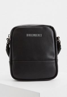 Сумка, Bikkembergs, цвет: черный. Артикул: BI535BMHTOB6. Аксессуары / Сумки