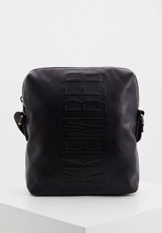 Сумка, Bikkembergs, цвет: черный. Артикул: BI535BMHTOD1. Аксессуары / Сумки