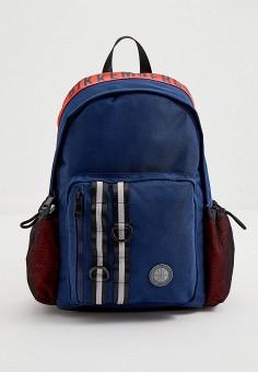 Рюкзак, Bikkembergs, цвет: синий. Артикул: BI535BMJPJF6. Аксессуары / Рюкзаки