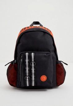 Рюкзак, Bikkembergs, цвет: черный. Артикул: BI535BMJPJF7. Аксессуары / Рюкзаки