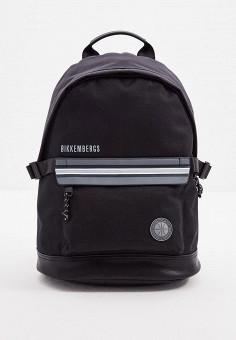 Рюкзак, Bikkembergs, цвет: черный. Артикул: BI535BMJPJG6. Аксессуары / Рюкзаки