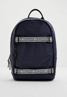 Рюкзак, Bikkembergs, цвет: синий. Артикул: BI535BMJPJH4. Аксессуары / Рюкзаки