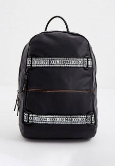 Рюкзак, Bikkembergs, цвет: черный. Артикул: BI535BMJPJH5. Аксессуары / Рюкзаки