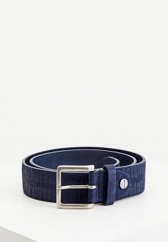 Ремень, Bikkembergs, цвет: синий. Артикул: BI535DMHTOF1.
