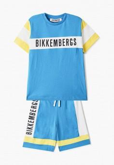 Костюм спортивный, Bikkembergs, цвет: голубой. Артикул: BI535EBHNZJ7.