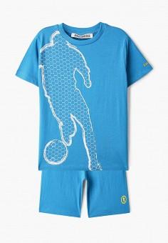 Костюм спортивный, Bikkembergs, цвет: голубой. Артикул: BI535EBHNZJ9.