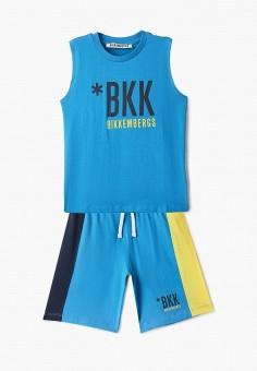 Костюм спортивный, Bikkembergs, цвет: голубой. Артикул: BI535EBHOAO4.
