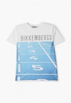Футболка, Bikkembergs, цвет: белый. Артикул: BI535EBHOAO6.