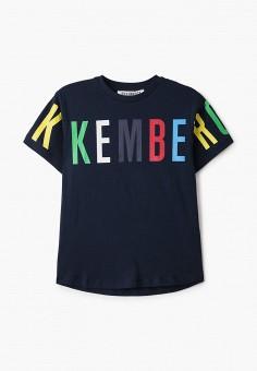 Футболка, Bikkembergs, цвет: синий. Артикул: BI535EBHOAP3.
