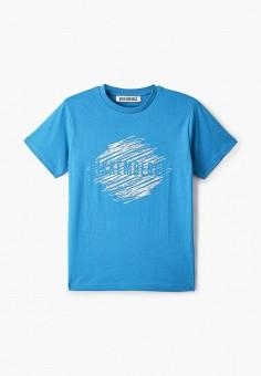 Футболка, Bikkembergs, цвет: голубой. Артикул: BI535EBHOAQ2.