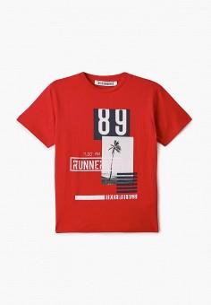 Футболка, Bikkembergs, цвет: красный. Артикул: BI535EBIDOA2.