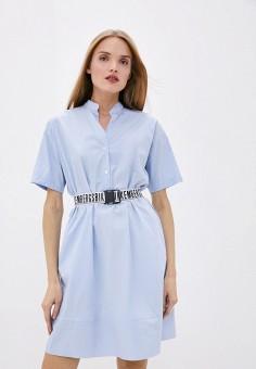 Платье, Bikkembergs, цвет: голубой. Артикул: BI535EWHKBD8.