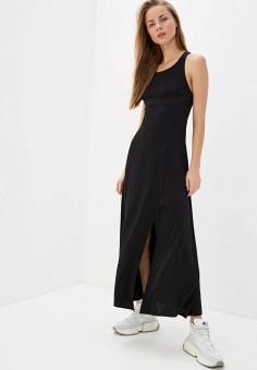 Платье, Bikkembergs, цвет: черный. Артикул: BI535EWHKBF6.